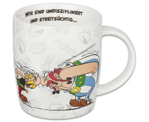 Kaffeebecher Asterix aber wir lieben