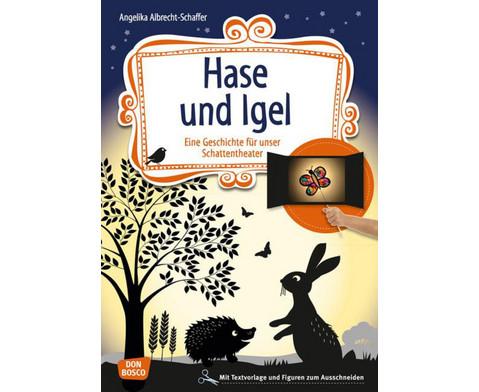 Hase und Igel - Schattentheater-Set-1