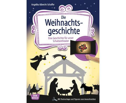 Die Weihnachtsgeschichte - Schattentheater-Set-1