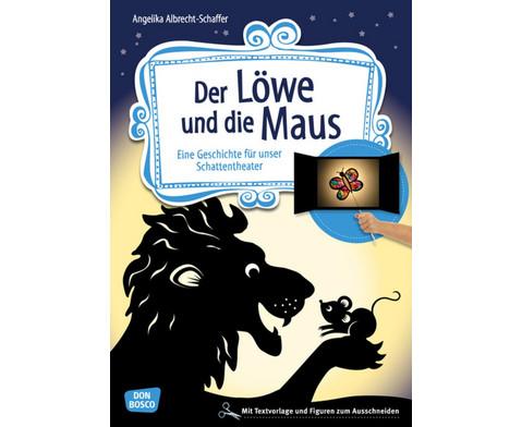 Der Loewe und die Maus - Schattentheater-Set-1