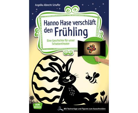 Hanno Hase verschlaeft den Fruehling-1