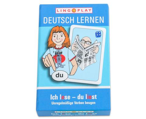 Deutsch lernen - Unregelmaessige Verben beugen