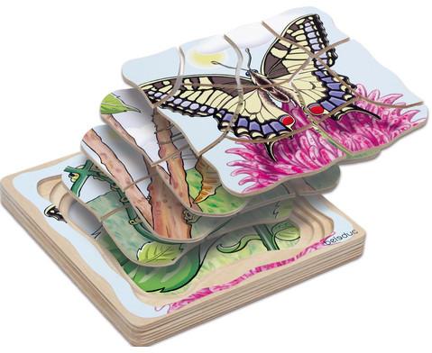 Lagen-Puzzle Schmetterling