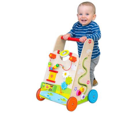 Lauflernwagen mit Spielboard-2