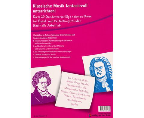 20 x klassische Musikstuecke fuer 45 Minuten - Klasse 1-2-2