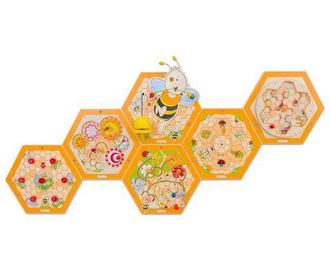 Wandelemente Bienenstock