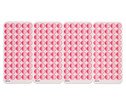 Tellimero Stickerbogen-Set pink-2