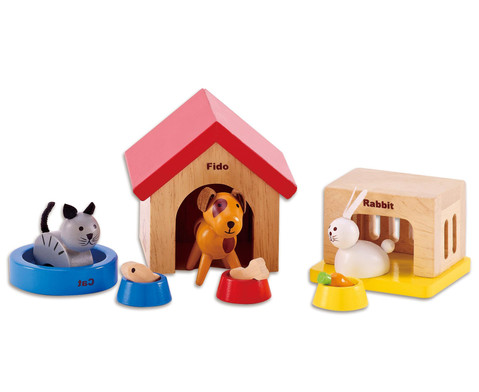 Puppenhaus Zubehoer Haustiere