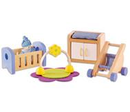 Puppenhaus Babyzimmer