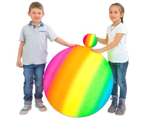 Regenbogen - Gymnastikball  1 m-6