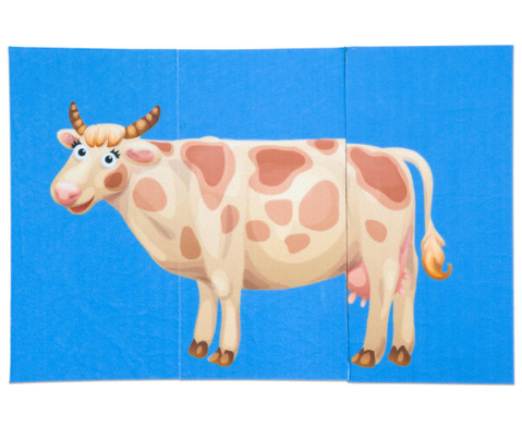Zuordnungsspiel Bauernhoftiere-3