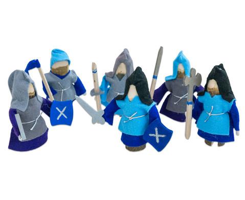 Ritter 6er-Set blau-1