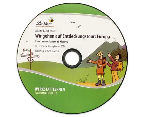 Lernwerkstatt Wir gehen auf Entdeckungstour Europa-6