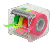 4-farb Textmarkerband im Abroller, 9mm, 20 m