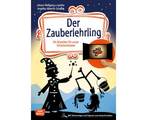 Der Zauberlehrling Geschichte fuer das Schattentheater-1