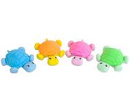 Schildkröten-Radierer, 4 Stück im Set