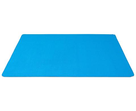 Kurzflor-Teppich 2 x 2 m