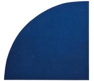 Kurzflor-Teppich, Viertelkreis 3m