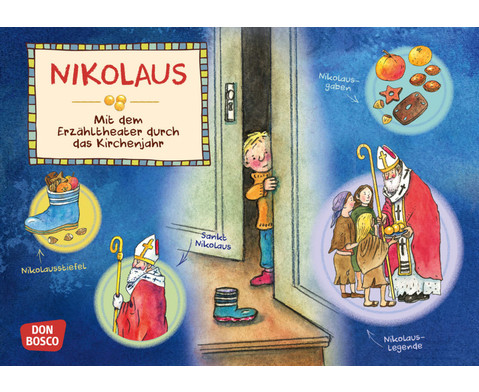 Bildkarten Nikolaus