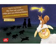 Bildkarten: Alle Tiere nah und fern wollen gern zum Weihnachtsstern