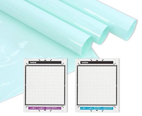 ScanNCut-Matten fuer Papier- und Stoffschnitte
