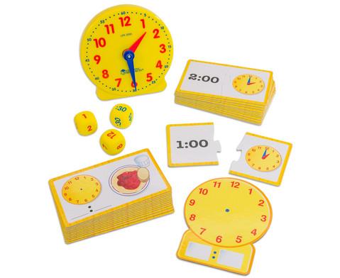 Uhrzeit Aktivitaets-Set