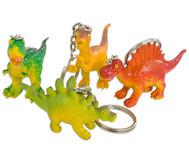Schlüsselanhänger Dino, 4 Stück im Set, Überraschungsmotive