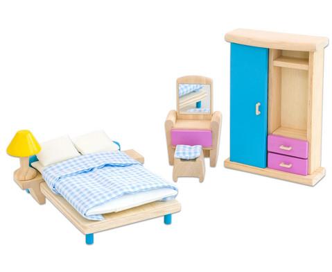 Puppenhausmoebel Neo Schlafzimmer