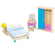 """Puppenhausmöbel """"Neo"""" Schlafzimmer"""
