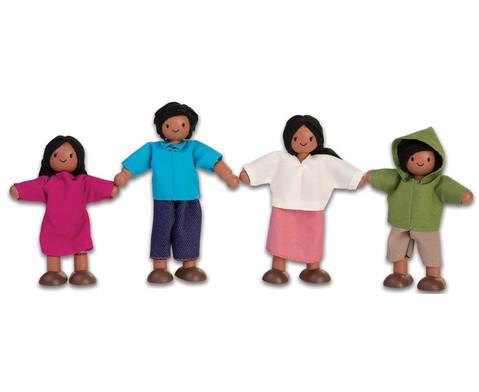 Puppenhausfamilie suedlaendisch
