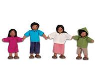 Puppenhausfamilie südländisch