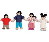 """Puppenhausfamilie """"asiatisch"""""""