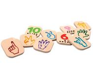 Finger-Zahlen