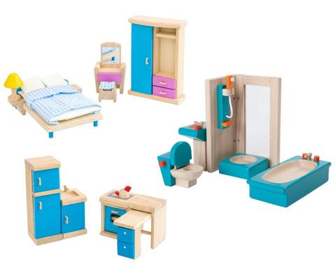 Puppenhausmoebel Set 1