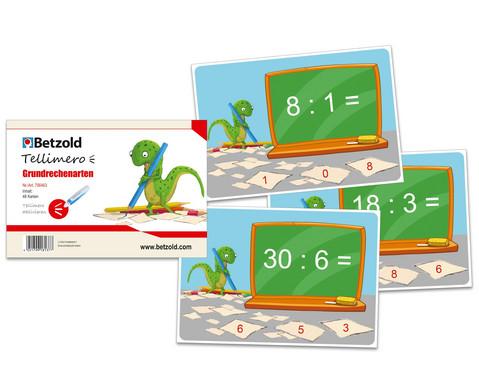 Tellimero Rechenkarten zu den Grundrechenarten