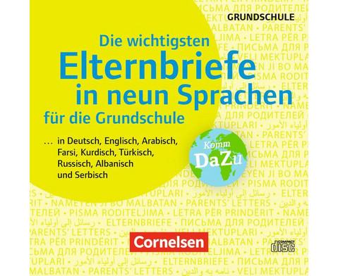 CD - Die wichtigsten Elternbriefe in neun Sprachen