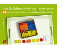 Bildkarten: Vorschulideen auf dem Lern-Tablett serviert