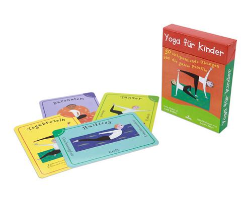 Yoga fuer Kinder  50 entspannende UEbungen