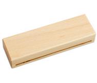 Holzblocktrommel Buche