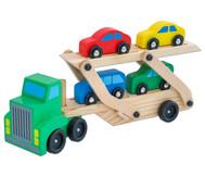 Auto-Transporter aus Holz