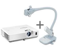 OHP 2.0 - Set: Betzold Objektkamera X6A + Hitachi Beamer CP-EW302N