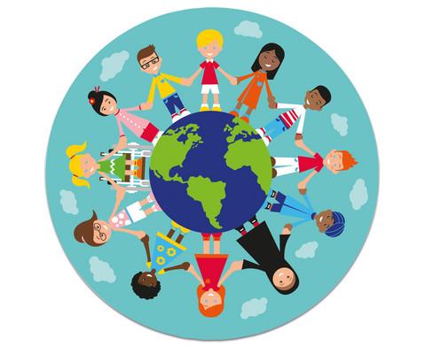 Kinder der Welt - Teppich
