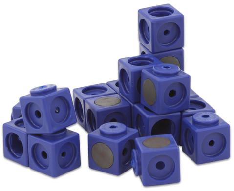 Riesensteckwuerfel-Set magnetisch 40 Stueck rot-blau-6