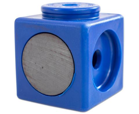 Riesensteckwuerfel-Set magnetisch 40 Stueck rot-blau-7
