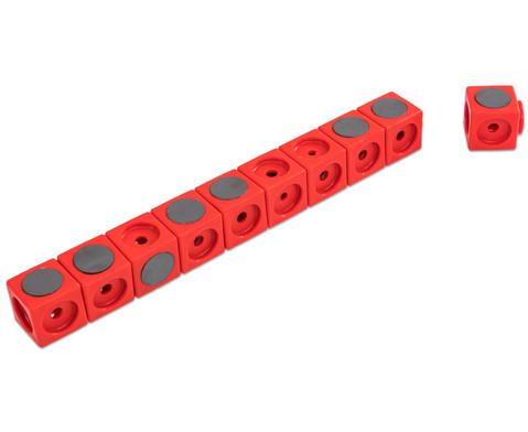 Riesensteckwuerfel-Set magnetisch 40 Stueck rot-blau-11