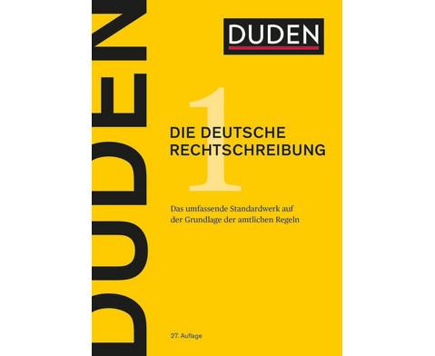 Duden - die deutsche Rechtschreibung 27 Auflage