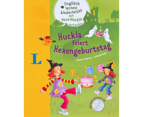 Huckla feiert Hexengeburtstag - Buch mit Audio-CD-1
