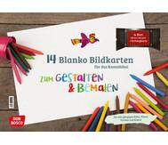 Blanko-Bildkarten zum Gestalten und Bemalen für das Kamishibai