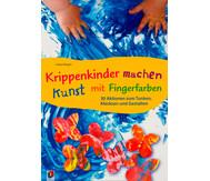 Buch: Krippenkinder machen Kunst mit Fingerfarben