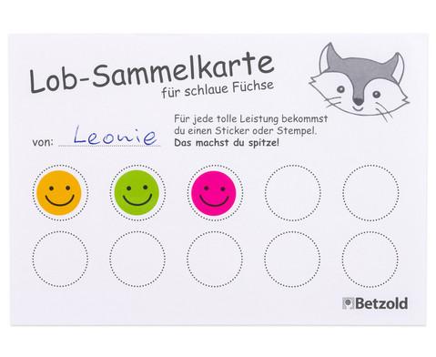 Belohnungssticker bunte Smileys 660 Stueck-4